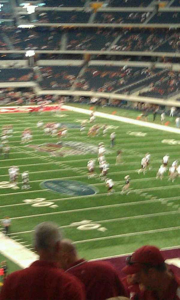 AT&T Stadium, section: 227, row: 15, seat: 1