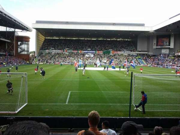 Ibrox Stadium, section: CF4, row: j, seat: 102