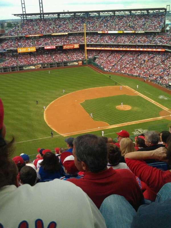 Citizens Bank Park, section: 428, row: 9, seat: 10