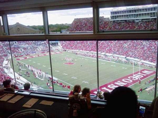 Camp Randall Stadium, section: vc, row: 4, seat: 8