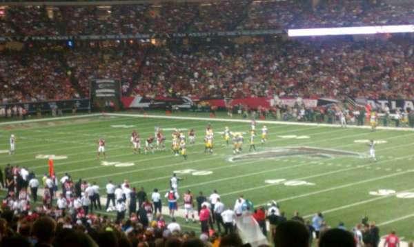 Georgia Dome, section: 111, row: 35, seat: 2