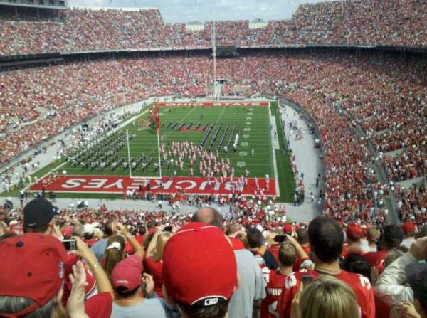 Ohio Stadium, section: 38B, row: 31, seat: 5