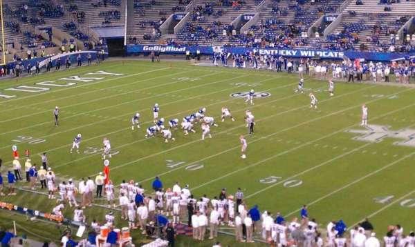 Kroger Field, section: 214, row: 28, seat: 15