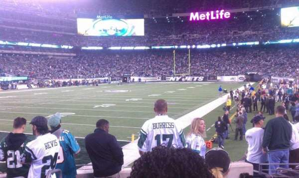 MetLife Stadium, section: 146, row: 9, seat: 11