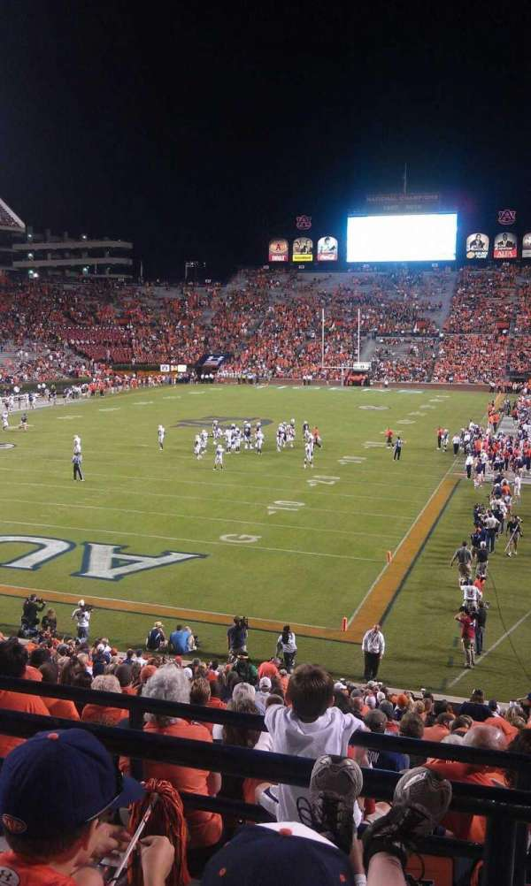 Jordan-Hare Stadium, section: 43