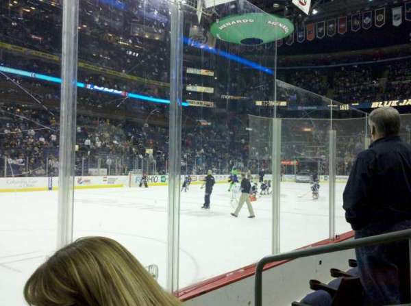 Nationwide Arena, section: 106, row: C, seat: 3