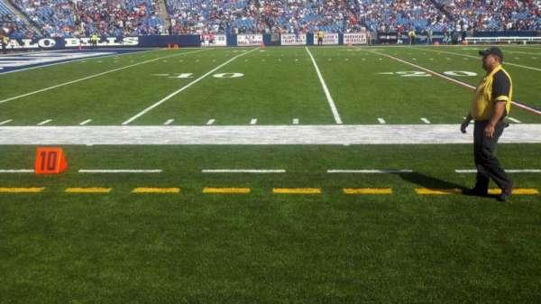 Highmark Stadium, section: 136, row: 1, seat: 23