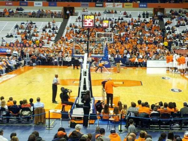 Carrier Dome, section: 113, row: n, seat: 16