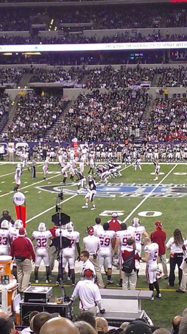 Lucas Oil Stadium, section: 113, row: 12, seat: 1