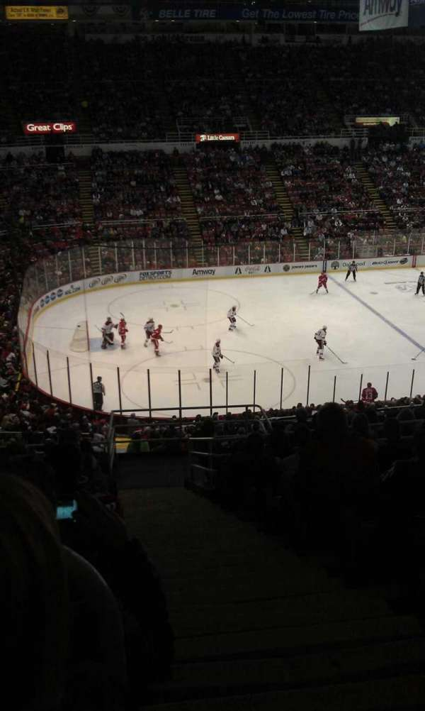 Joe Louis Arena, section: 225a, row: 14, seat: 1