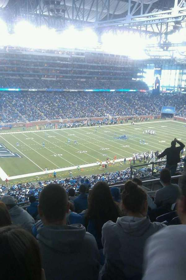 Ford Field, section: 326, row: 9, seat: 6