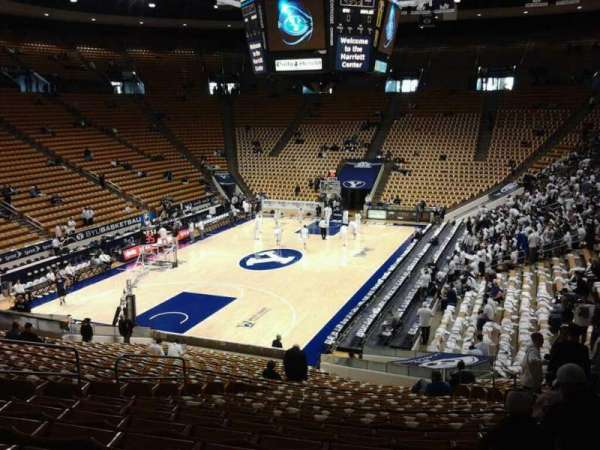 Marriott Center, section: 2, row: 27, seat: 12