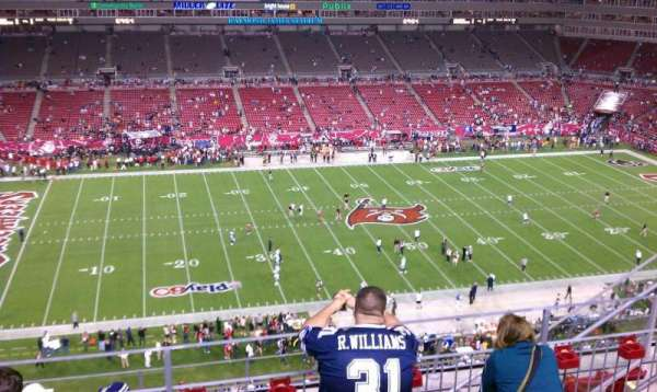 Raymond James Stadium, section: 333, row: E, seat: 16