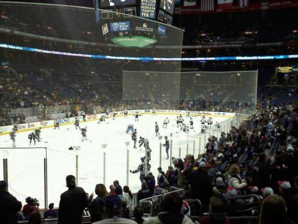 Nationwide Arena, section: 118, row: S, seat: 16