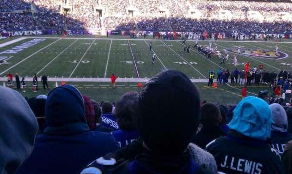 M&T Bank Stadium, section: 129, row: 28, seat: 5