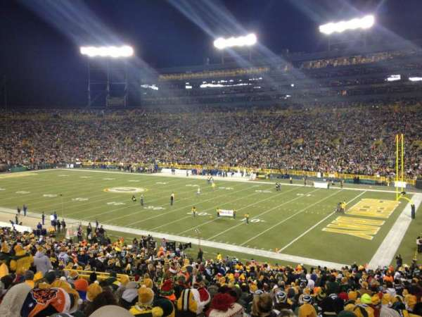 Lambeau Field, section: 109, row: 44, seat: 11