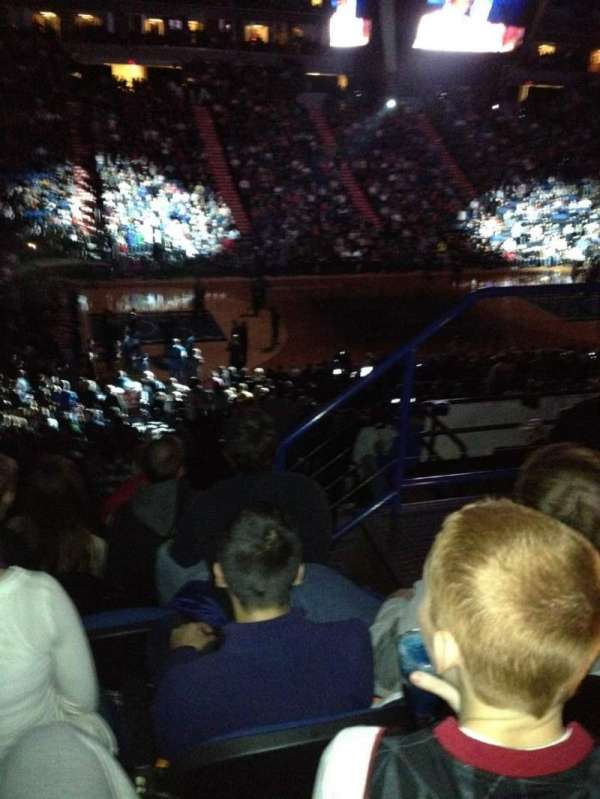 Target Center, section: 133, row: Z, seat: 5