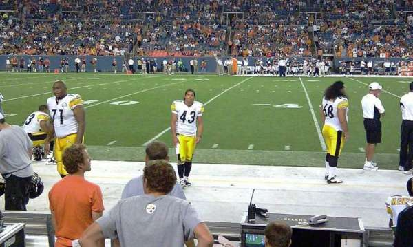 Empower Field at Mile High Stadium, section: 124, row: A1, seat: 7