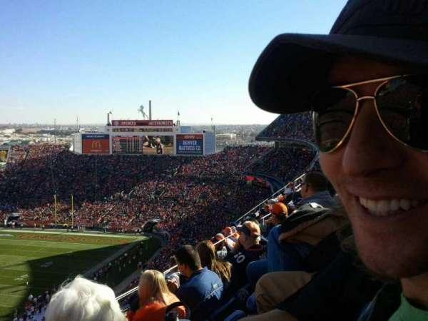 Broncos Stadium at Mile High, section: 509