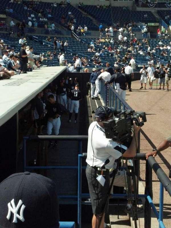 Yankee Stadium, section: 014b, row: Aa, seat: 15