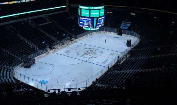 Bridgestone Arena, section: 302, row: R, seat: 11