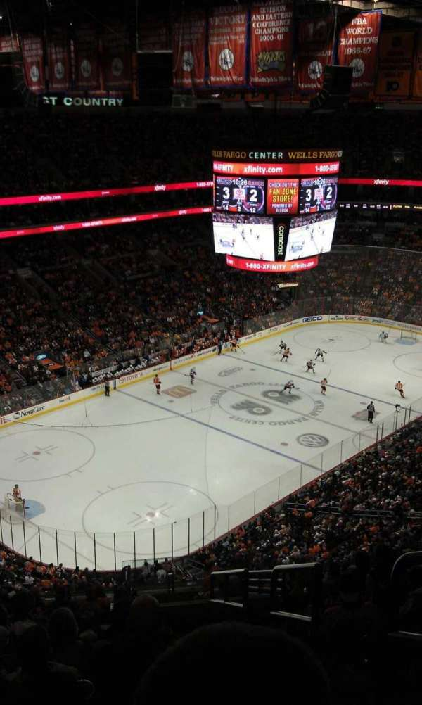 Wells Fargo Center, section: 209A, row: 15, seat: 20