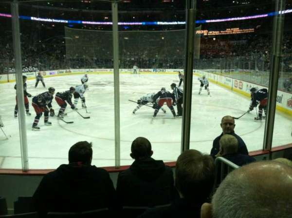 Nationwide Arena, section: 119, row: D, seat: 4