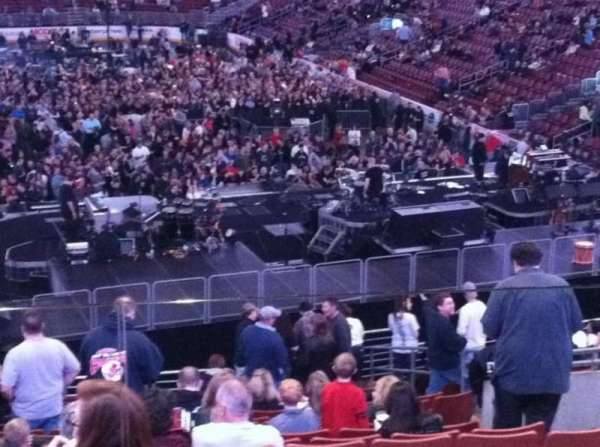 Wells Fargo Center, section: 118, row: 28, seat: 15
