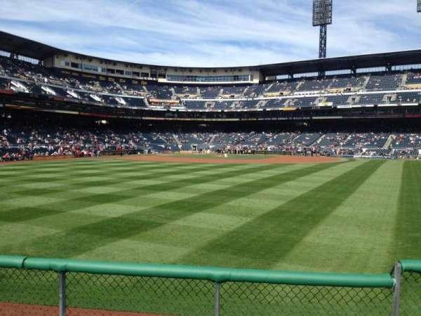 PNC Park, section: 141, row: D, seat: 4