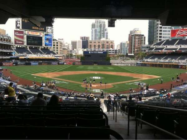 PETCO Park, section: 102, row: 16, seat: 1
