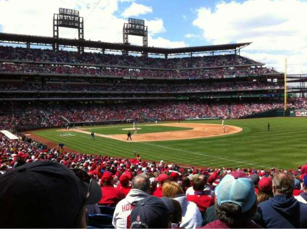 Citizens Bank Park, section: 110, row: 31, seat: 7