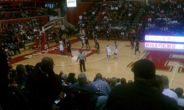 Rutgers Athletic Center, section: 104, row: M, seat: 13