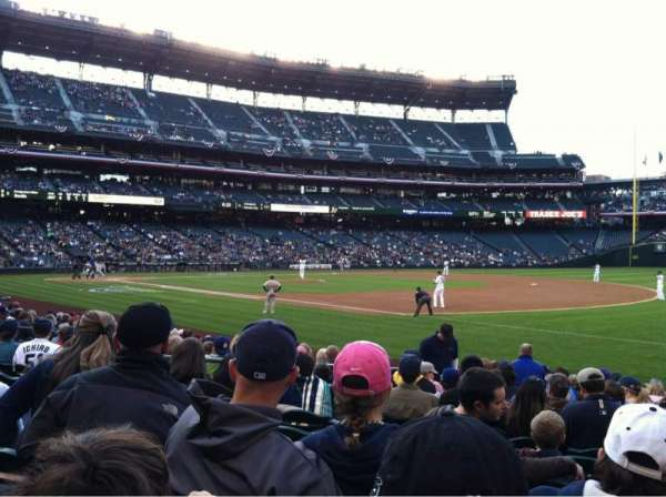T-Mobile Park, section: 117, row: 13, seat: 9