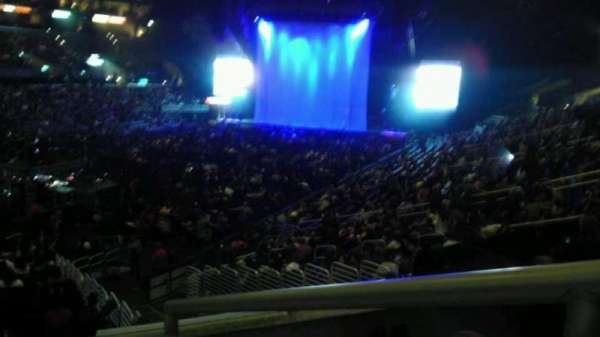 Staples Center, section: 205, row: 3, seat: 1