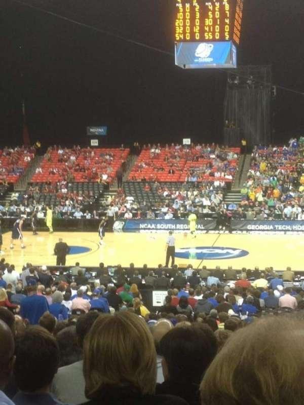 Georgia Dome, section: 124, row: 19, seat: 9
