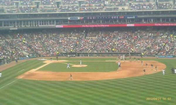 Comerica Park, section: 218, row: 5, seat: 19