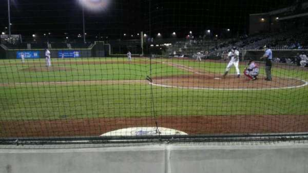 BB&T Ballpark, section: 113, row: 3, seat: 11