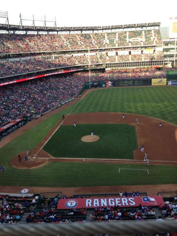 Globe Life Park in Arlington, section: 333, row: 1, seat: 2