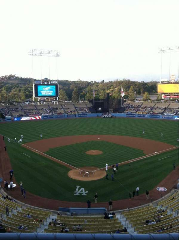 Dodger Stadium, section: 2RS, row: B, seat: 2