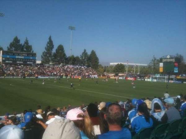 Stevens Stadium, section: 113, row: 10, seat: 12