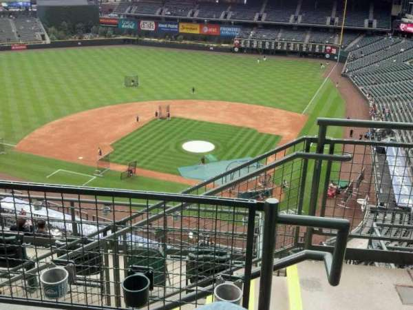 Coors Field, section: U334, row: 11, seat: 1