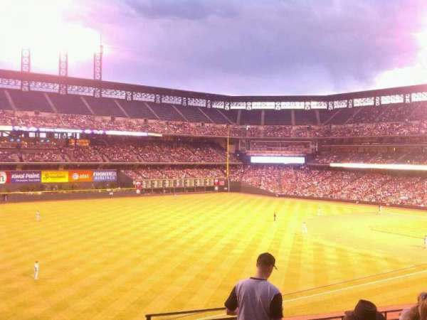 Coors Field, section: 247, row: 6, seat: 1