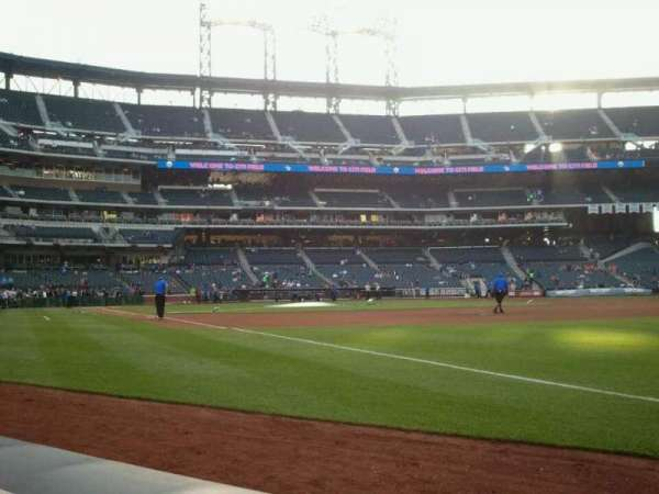 Citi Field, section: 109, row: A, seat: 9