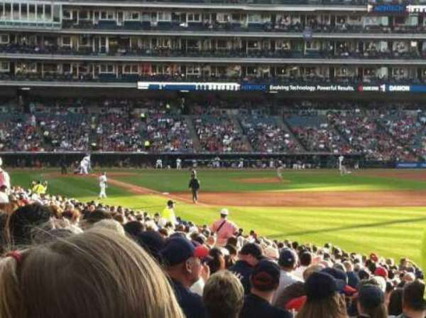 Progressive Field, section: 119, row: BB, seat: 1