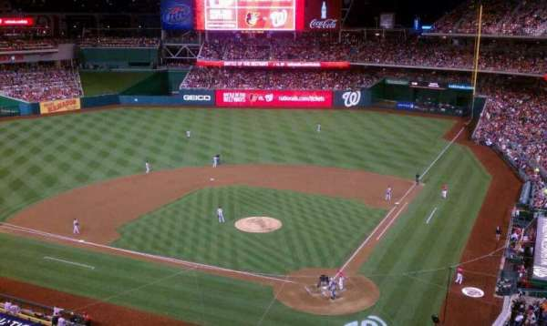 Nationals Park, section: 311, row: A, seat: 2