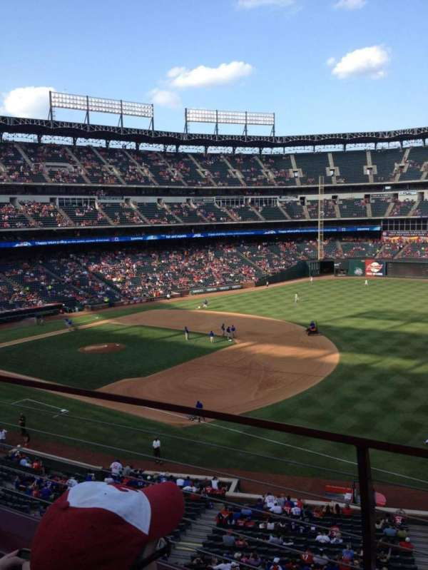 Globe Life Park in Arlington, section: 237, row: 2, seat: 10