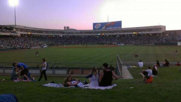 Raley Field, section: grass, row: open seat