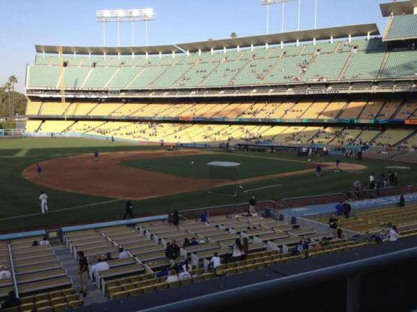 Dodger Stadium, section: 145LG, row: B, seat: 3