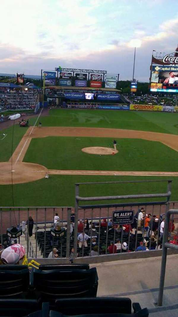Coca-Cola Park, section: 205, row: D, seat: 9