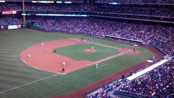 Citizens Bank Park, section: 330, row: 1, seat: 1